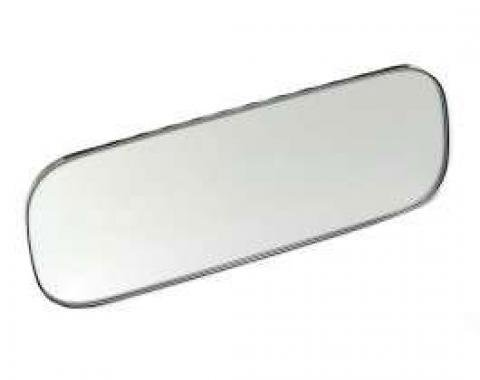 Chevy Truck Inside Rear View Mirror, Stainless Steel, 1960-1971