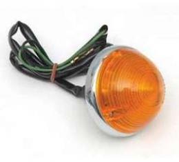 Chevy Parking & Turn Signal Light Assembly, Amber, 1955-1957