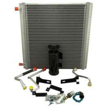 Chevy Truck Air Conditioning Condenser Kit, For Passenger Side Mounted Compressor, 1947-1955