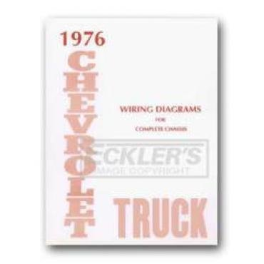 Chevy Truck Wiring Diagram, 1976