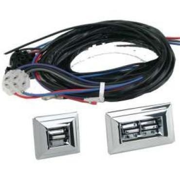 Chevy Truck Power Window Switch Kit