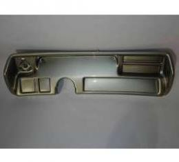 Chevelle Instrument Cluster Panel, Aluminum Finish, Without Pre-Cut Holes, 1970-1972