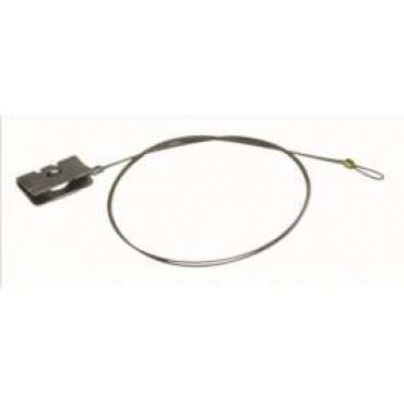 Chevelle & Malibu Shifter Indicator Cable, With Rectangle Speedometer, Automatic Transmission, 1978-1981