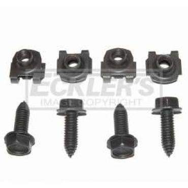 Chevelle Front Shock Mounting Fasteners, 1968-1972