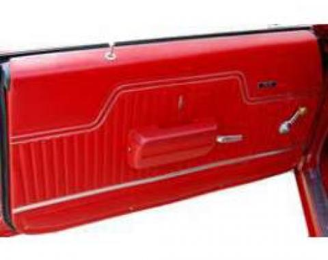 PUI Chevelle Front Door Panel, Standard, Coupe & Convertible, 1970-1972