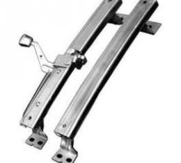 Chevelle Bucket Seat Track Assembly, Left, 1968-1972