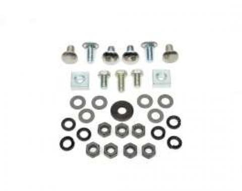 Chevelle Bumper Mounting Bolt Kit, Rear, 1968-1969