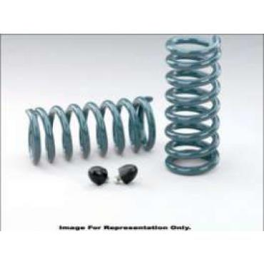 Chevelle & Malibu Coil Springs, Performance, 2 Drop, Big Block, Rear, Hotchkis, 1967-1972