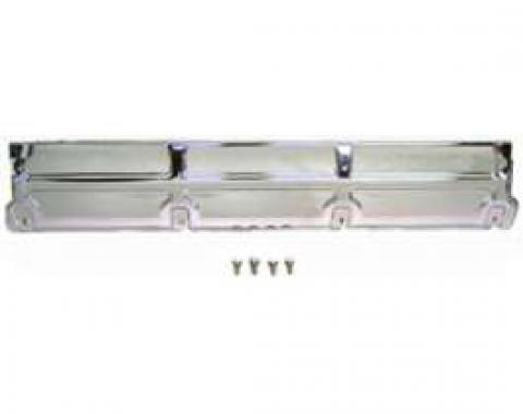 Chevelle Chrome, Radiator Top Support, V8, 4 bolt, 1968-1977