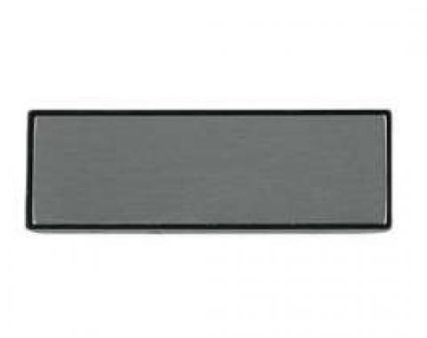 Malibu Door Pull Strap Insert, Brushed Aluminum, Original GM, 1981-1983