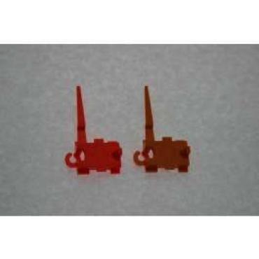 Malibu Shift Indicator Pointer, Auto With Gauges, Orange, 1979-1983