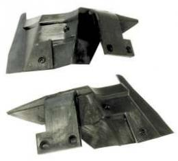Chevelle Convertible Rear Panel Auxiliary Seal, 1968-1972
