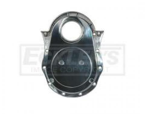 Chevelle Timing Chain Cover, Big Block, Polished Aluminum, 1964-1972