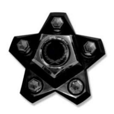 Malibu Star Caps, With Generic Emblem, 1980-1983