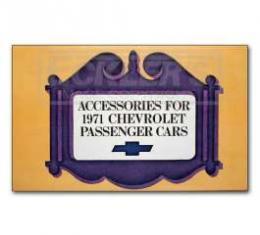 Chevelle Accessory Book, 1971