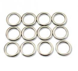 Chevelle Intake Manifold Washers, Small Block, For Cars With Aluminum Intake Manifold, 1964-1972