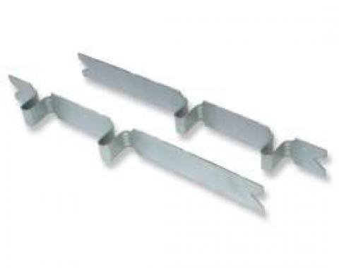 Chevelle Control Arm Inserts, Boxed, Rear, 1964-1972