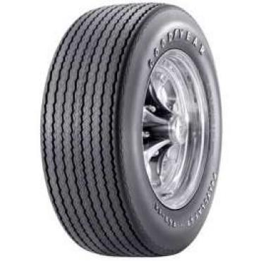 Chevelle Tire, G60/15 Raised White Letter, Goodyear Polyglas GT Bias Ply, 1972