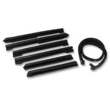 Chevelle Convertible Top Weatherstrip Kit, 1968-1972