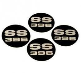Chevelle Center Cap Inserts, Super Sport (SS) 396, 1969-1970