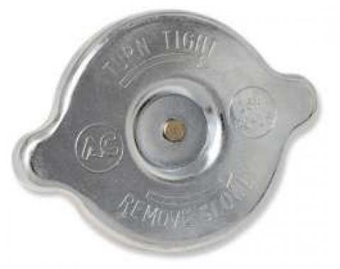 Chevelle Radiator Cap, For All Cars Except 1964 Without Air Conditioning, 1964-1972