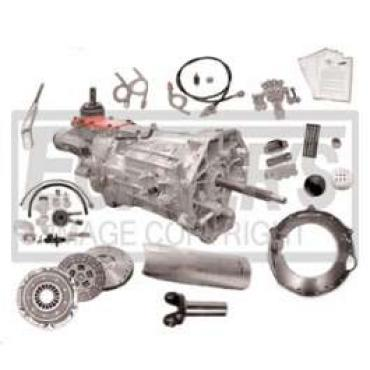 Chevelle 6-Speed Transmission Conversion Kit, With All New Tremec T56 Magnum, 1968-1972