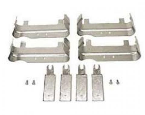 Chevelle Spark Plug Heat Shields, Small Block, Exhaust Manifold, 1964-1969