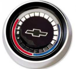 Chevelle Horn Button Assembly, Wood Steering Wheel, Bowtie Emblem, 1965