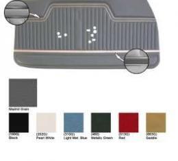 Legendary Chevelle Door Panels, Coupe & Convertible. Show Correct, 1970