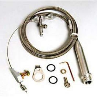 Chevelle Kick down Cable Kit, Automatic Transmission, Turbo Hydra-Matic 700R4, Hi-Tech, Lokar, 1964-1972