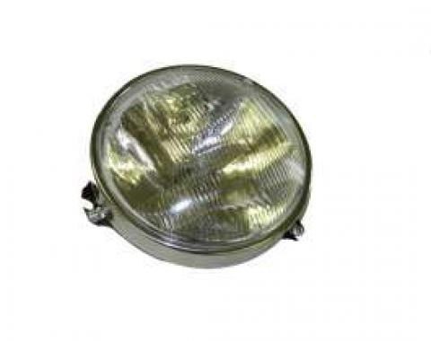 Chevelle Headlight Capsule, Outer, Halogen Bulb, 1964-1970