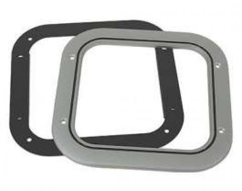 Chevelle Floor Shift Boot Retainer Ring Set, For Cars With Manual Transmission & Without Center Console, 1968-1972