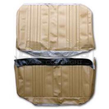 Chevelle & Malibu Covers, Rear Seat, Convertible, Concours, 1970