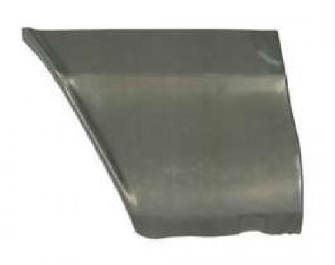 Chevelle Fender Patch Panel, Lower Rear, Left, 1964-1965