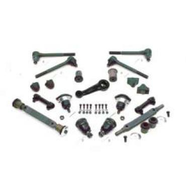 Chevelle Front End Kit, Rubber, With Large Lower Round Bushing, 1971-1972