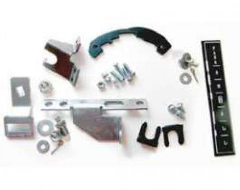 Chevelle Shifter Conversion Kit, Powerglide To 700R4, 200-4R Or 4L60 Transmission, 1966-1967