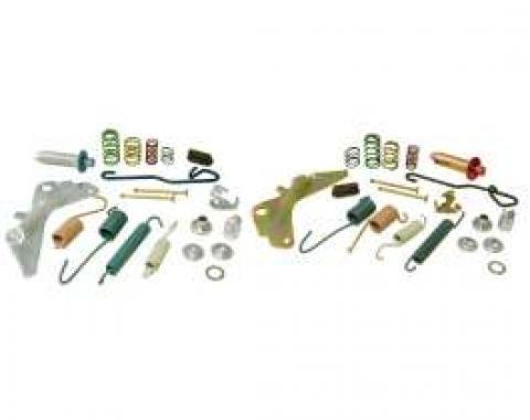 Chevelle Drum Brake Hardware Kit, Rear, Complete, 9-1/2, 1964-1972