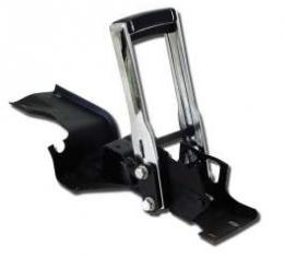 Chevelle Floor Shifter Assembly, Automatic Transmission, Complete, With Horseshoe Handle, 1968-1972