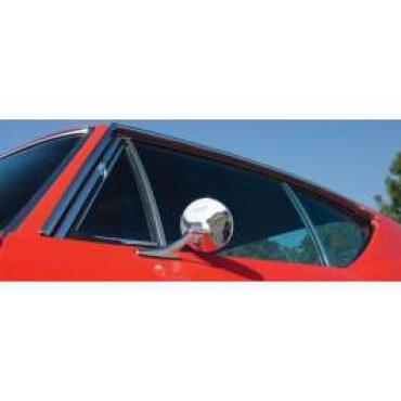 Chevelle Window Felt Kit, 2-Door Coupe, 1968