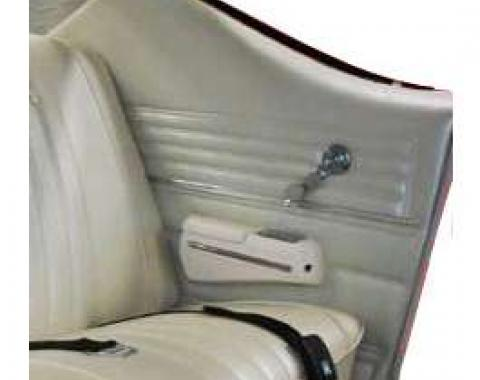 PUI Preassembled Rear Door Panels, Coupe 68CHPDC