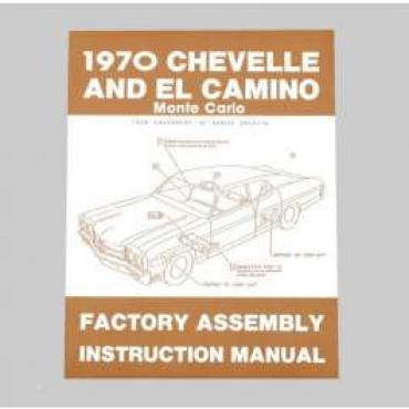 Chevelle Assembly Manual, 1970