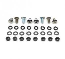Chevelle Bumper Mounting Bolt Kit, Front, 1970-1972