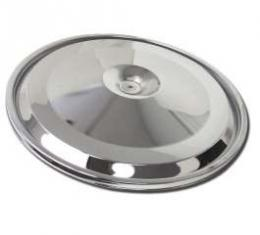 Chevelle Air Cleaner Top, 396/325hp, Open Element, Chrome, 1966-1967