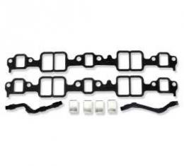 Chevelle Intake Manifold Gaskets, Small Block, With Block-Off Plate, 1964-1972
