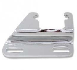 Chevelle Alternator Bracket, Small Block, Lower, Chrome, Exhaust Header Mounting Adapter, 1964-1972