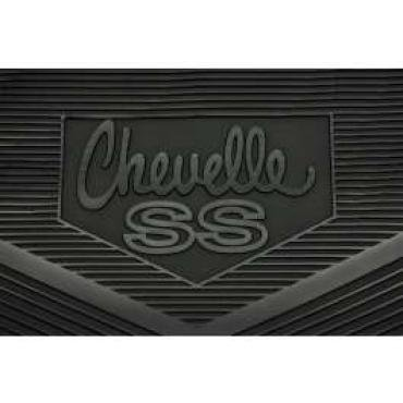 Chevelle Floor Mats, Chevelle SS, 1968-1972