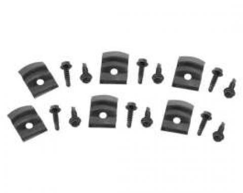 Chevelle Rocker Panel Molding Clips, 1964-1968