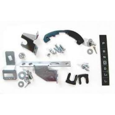Chevelle Shifter Conversion Kit, Power glide To 700R4, 200-4R Or 4L60 Transmission, 1964-1965