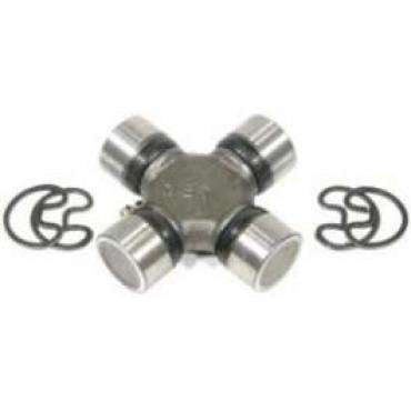 Chevelle & Malibu Drive Shaft Universal Joint, With Outside Lock Up Rings, Front Or Rear, 1973-1983