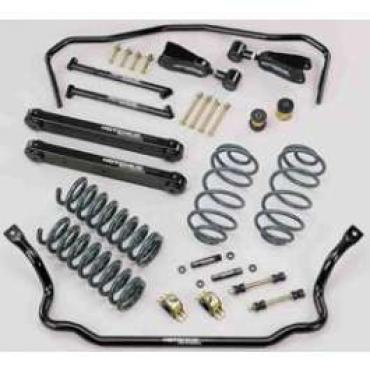 Chevelle Hotchkis Total Vehicle Suspension System, For Small Block Or Big Block With Aluminum Heads & Manifold, 1971-1972